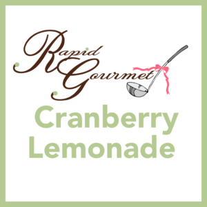 cranberry lemonade
