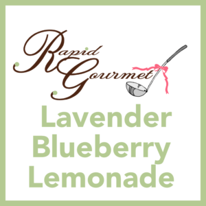 lavendar blueberry lemonade