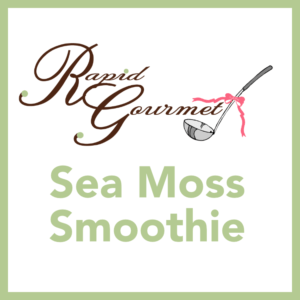 sea moss smoothie